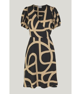 Just Female Leyla wrap dress, Just a sign