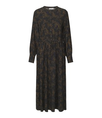 Just Female Hattie maxi dress, Lines black