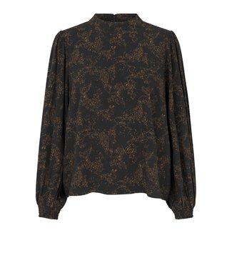 Just Female Hattie blouse, Lines black