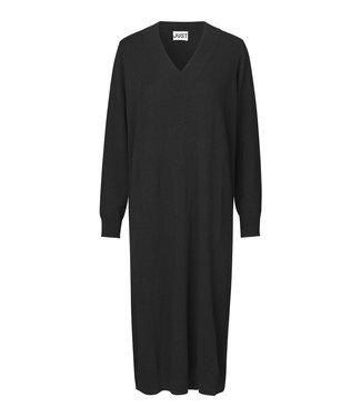Just Female Zanny knit dress, Black