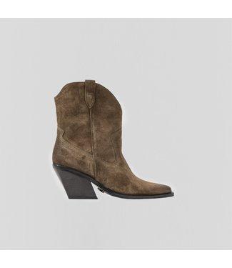 BRONX Boots LOW-KOLE, Moss