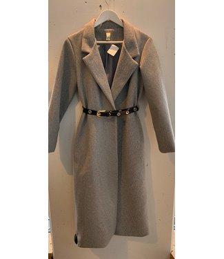 Coat blazer long, Grey