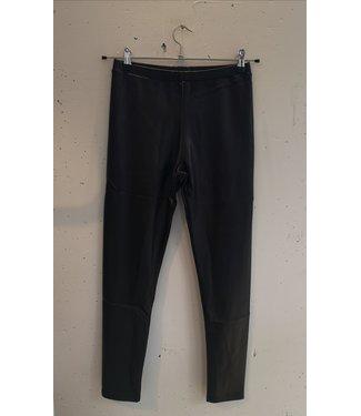 Legging faux leather, Black