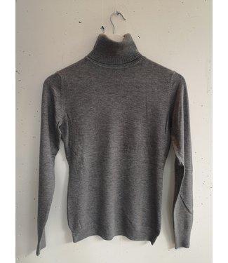 Longsleeve col, Grey