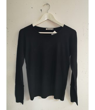 Longsleeve stretch, Black