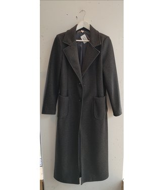 Coat felt maxi, Dark grey
