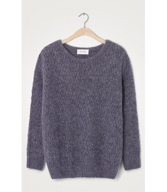 American Vintage Sweater Dolsea18A, Purple melange