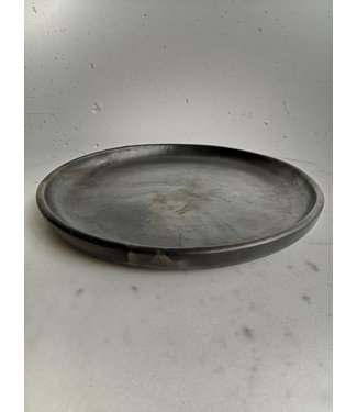The burned classic plate