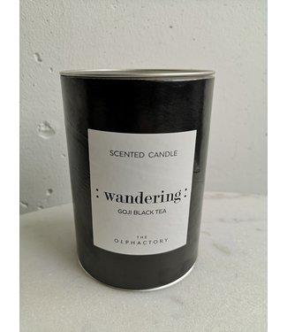 Candle mind wand goji black tea