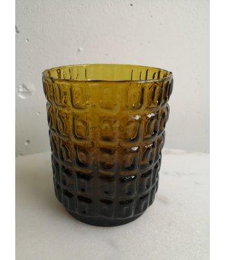 70's vase mustard