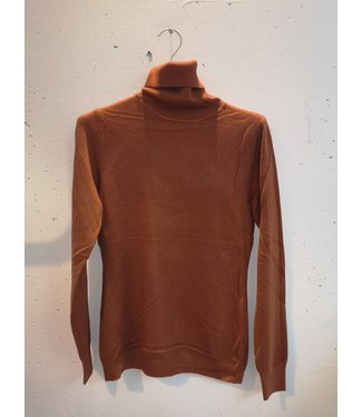 Longsleeve col, Orange
