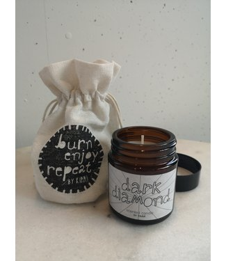 Scented candle  pouch, Brown