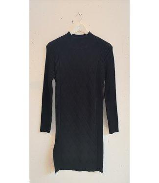 Dress sweater zigzag, Black
