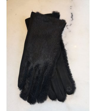 Gloves Fluffly, Black