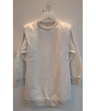 Sweater dress shoulders, Light grey