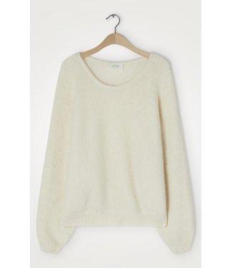 American Vintage Sweater East18EE21, Mother of pearl melange