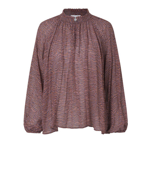 Second female Venezia new blouse, Roan Rouge