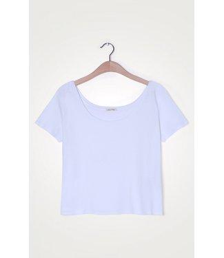 American Vintage T-shirt Gabyshoo02E, White