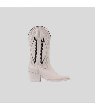 BRONX Cowboy boots JUKESON western, Off white black