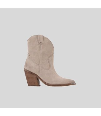 BRONX Ankle boots NEW-KOLE metal-toe, Sand
