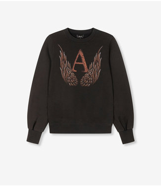 ALIX the label Sweater A wings, Black