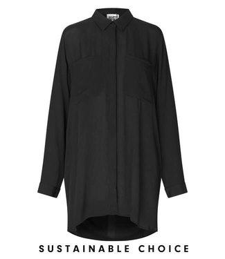 Just Female Lima oversized shirt, Black