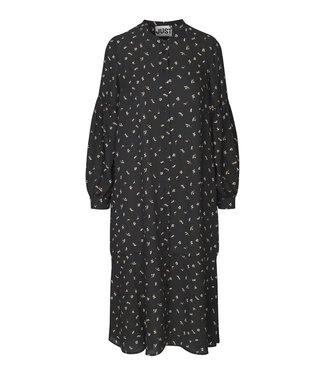 Just Female Hydra dress, Snowberry black