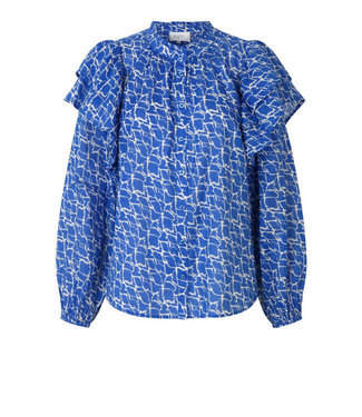 Second female Blouse Dayly, Deep ultramarine