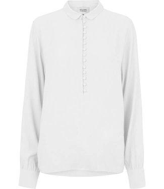 Second female Ganash LS blouse, White swan