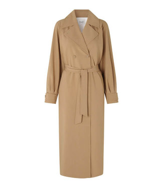 Second female Silvia new trenchcoat, Tiger's eye
