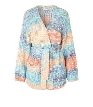 Second female Elsa knit cardigan, Brunnera blue