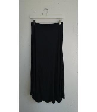 Skirt silk, Black