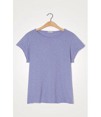 American Vintage T-shirt SON30TG, Vintage Bluish