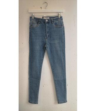 Jeans skinny stretch 80s, Vintage blue