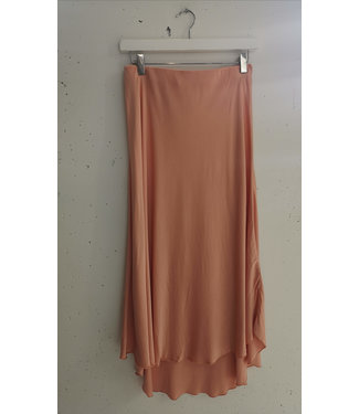 Skirt Silk, Salmon