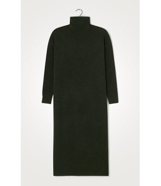 American Vintage Sweater dress Nox14B, Cedar melange