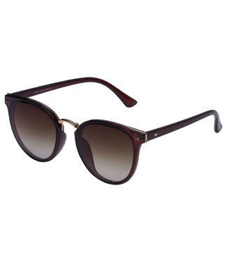 Sunglasses golden nose wing, Brown