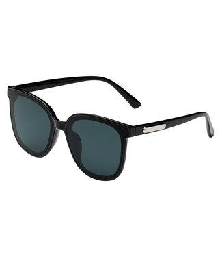 Sunglasses silver detail, Black