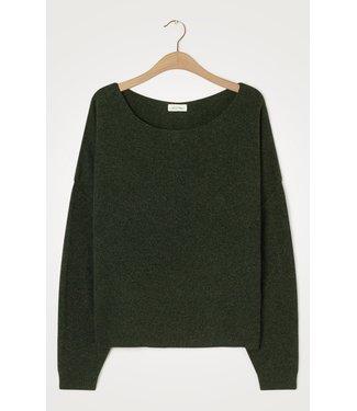 American Vintage Sweater DAM225, Pesto melange