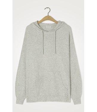 American Vintage Sweater hoodie DAM18D, Heather grey