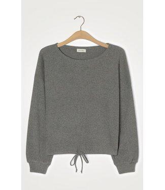 American Vintage Sweater RIR03AH21, Charcoal melange