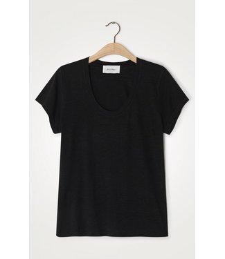 American Vintage T-shirt JAC48H21, Black