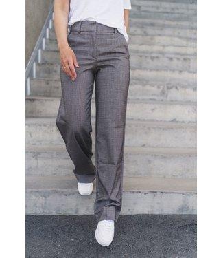 Five units Trousers DENA 489, Brown mini herringbone