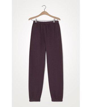 American Vintage Jogging pants IKA05AH21, Aubergine