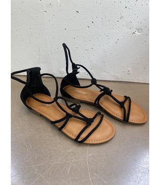 Sandal straps, Black