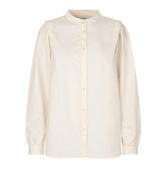 Second female Blouse reid shirt, Egret