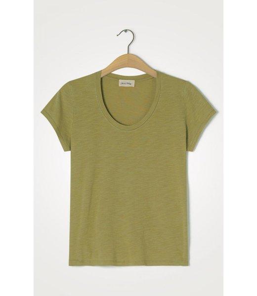 American Vintage T-shirt JAC48V, Vintage Olive tree