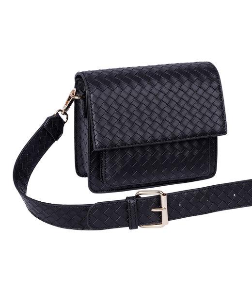 Bag braided, Black