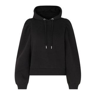 Second female Carmella sweater hoodie, Black
