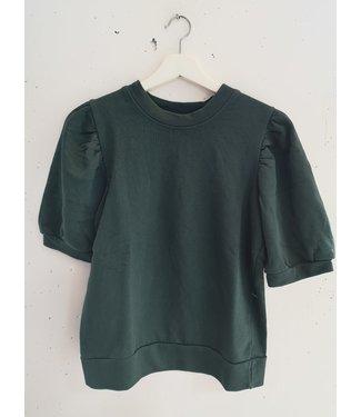 Sweater tee, Dark green